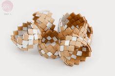 paper + tetra pack bracelets