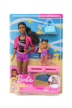 Barbie Gymnastics Coach by Mattel Inc. Mattel Barbie, Barbie And Ken, Barbie Dolls, Dance Technique, Gymnastics Coaching, Barbie Kitchen, Women Boxing, Top Toys, Daily Deals