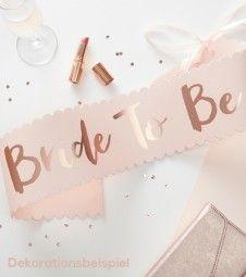 Bride to be Schärpe