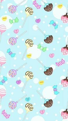 Cute Food Wallpaper, Vintage Flowers Wallpaper, Cute Pastel Wallpaper, Cute Patterns Wallpaper, Kawaii Wallpaper, Disney Wallpaper, Cute Wallpaper Backgrounds, Wallpaper Iphone Cute, Pretty Wallpapers
