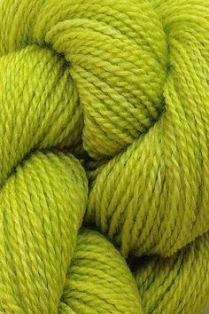 Green Knitting Wool