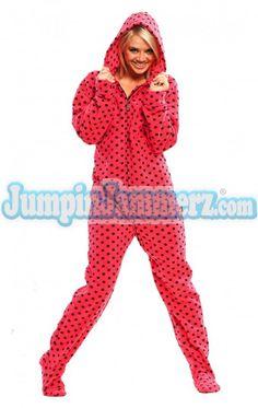 e0d2af8afc loves the adult footie pj's Adult Onesie Pajamas, Polar Fleece, Women's  Feet, Pjs