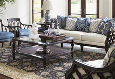 Awash in nautical navy, cool blue, warm beige, and elegant ivory tones, these room-refreshing finds brim with versatile appeal. Add chic touches to any space with eye-catching rugs, timeless sofas, country-chic cabinets, painterly canvas prints, and more.