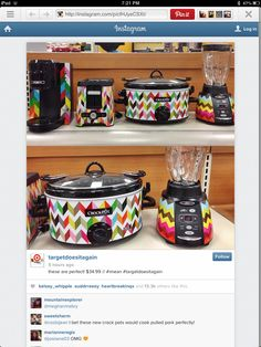 Quilt printed kitchen appliances now at Target!