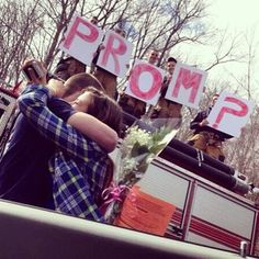 Firefighter promposal:)   I would love this as i am a HUGE fan of chicago fire