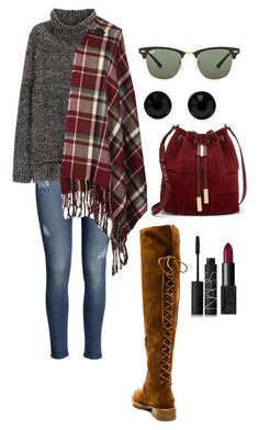 """""""Senza titolo #1520"""" by monsteryay ❤ liked on Polyvore featuring Jeffrey Campbell, H&M, Vince Camuto, Givenchy, NARS Cosmetics and Ray-Ban"""