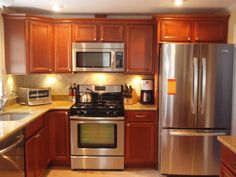 Here Is The Final Product Of A Complete Kitchen Remodel I Finshed In 2010. I