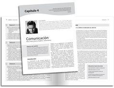 Diseño editorial - Stop Diseño Gráfico - Diseño de Interiores de libro de comunicación, Madrigal, McGraw Hill.