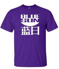 blue sun purple