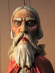 This is by Prague Marionettes for the Prague International Puppetry Conference.