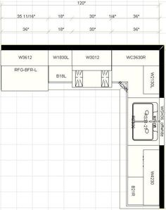 8x10 u shaped kitchen layout - Google Search | For the Home ...