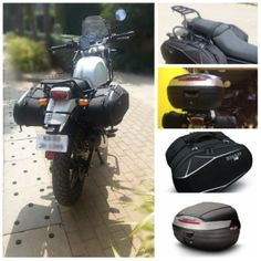 This a or a can be fitted on any as per its requirement and it majorly helps in carrying some important items inside it while you are # Motorcycle Luggage, Motorcycle Tank, Hard Saddlebags, Enfield Himalayan, Bike Rider, Dream Machine, Custom Motorcycles, Adventure, Gopro