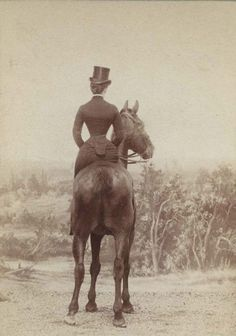Welcome to Equine Canada. Vintage side saddle