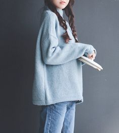 light blue turtleneck sweater  @kayliemal
