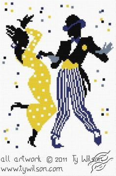 FREE PATTERNS - People - Ty Wilson - The Mambo - Gvello Stitch