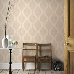 Tranquil Aqua Wallpaper by Graham and Brown Silver Mist Wallpaper, Cream Wallpaper, Plain Wallpaper, Silver Wallpaper, Brown Wallpaper, Modern Wallpaper, Vinyl Wallpaper, Textured Wallpaper, Designer Wallpaper