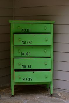 green chest of drawers - Google Search