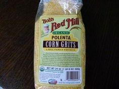 coarse-ground organic polenta