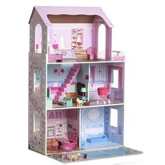 Wooden Dollhouse role Play K $75 note there are two sizes, smaller portable