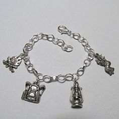 Campfire Girl Charm Bracelet for your girl scout from SUZQ'S STORE for $12.00