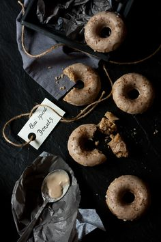 Chai Spice Donuts - (Need to translate the page to English) Memories of New York City
