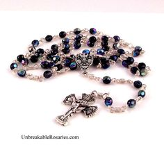RCIA Confirmation unbreakable rosary beads. www.UnbreakableRosaries.com