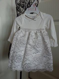 DIY baptism dress...longsleeve onesie with skirt?