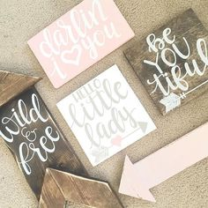 Baby Girl Woodland Nursery Decor
