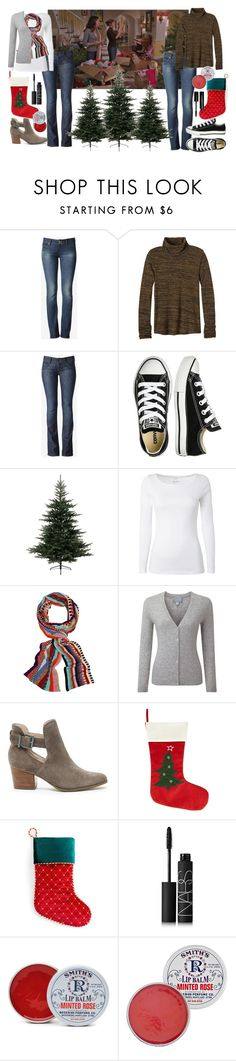 """""""Lorelai and Rory Style RTD"""" by sewing-girl ❤ liked on Polyvore featuring Hudson Jeans, prAna, Converse, White Stuff, Missoni, Pure Collection, Sole Society, Holiday Lane, NARS Cosmetics and Rosebud Perfume Co."""