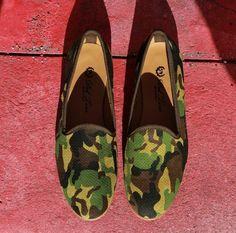 Del Toro Shoes | Camo Slippers
