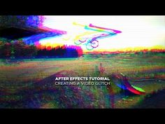 After Effects Tutorial - Creating a Video Glitch - YouTube