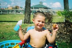 Baby Ricky! 💕 #babyboy #baby #littleboy #boy #pool #summertime #snacktime #staugustine #Florida #Jacksonville #oldtown #music #film #35mm #slr #photography #istillusefilm