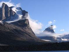 Mount Thor, on Baffin Island, Nunavut, Canada.  photo by wokaili