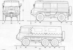 Pinzgauer 712 K, Now Pajero 6x6 - Scale 4x4 R/C Forums