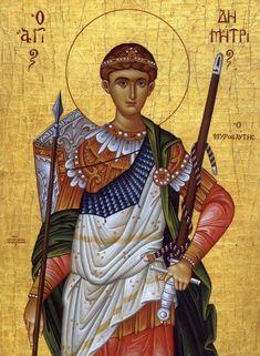 By Ella Duncan - St. Orthodox Icons, Saints, Princess Zelda, Statue, Artwork, Painting, Fictional Characters, Romania, Warriors