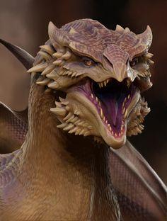 Dragon (3D) by TatianaMakeeva