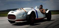 Skoda 966 Supersport 1950, racing car from Czechia