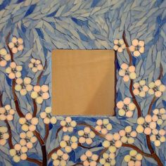 Stained Glass Mosaic Art what about light pink cherry blossoms Mirror Mosaic, Mosaic Art, Mosaic Glass, Mosaic Tiles, Glass Art, Mosaics, Sea Glass, Mosaic Crafts, Mosaic Projects