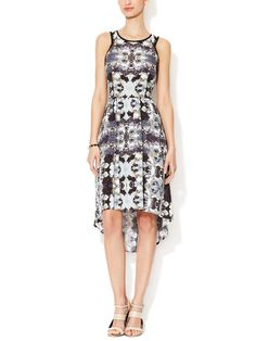 Sophie High-Low Dress from Go Graphic: Striking Prints on Gilt