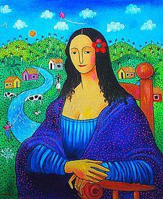 Mona Lisa [José Morillo] (Gioconda / Mona Lisa)