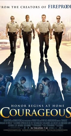Courageous (2011) ~ Alex Kendrick  Four police officers struggle with their faith and their roles as husbands and fathers when tragedy strikes close to home. Excellent Christian-based movie suitable for all family members