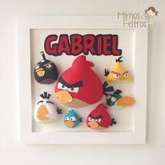 Quadrinho Angry Birds