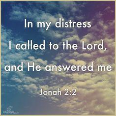 Jonah 2:2