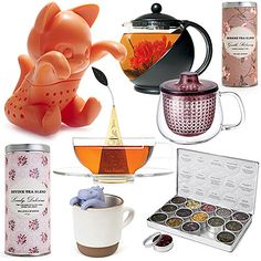 10 Must-Have Gifts for Anyone Who Loves Tea | Brew up a special gift with these tea infusers, blends, kettles, and other tea products