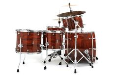 BRADY Jarrah Ply drum kit (Natural gloss finish). #drums