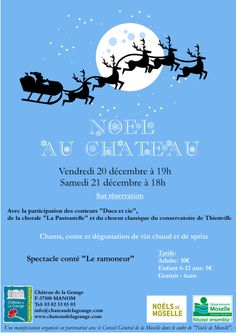 Another notice for Joyeaux Noel at the Chateau.........