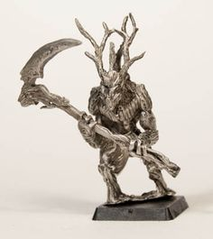 T'Sharo, Druidic Plant-man, by Valiant Miniatures
