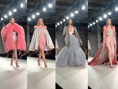 Another year in the front row for the Birmingham City University show during Graduate Fashion Week, and they just keep getting better. Birmingham City University, Fashion Week 2016, Vogue Magazine, I Love Fashion, Front Row, The Row, Ideas