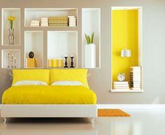 décoration maison jaune