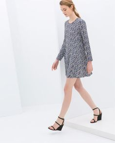PRINTED DRESS - Collection - Stock clearance - WOMAN - SALE | ZARA United, How would you accessorize this? http://keep.com/printed-dress-collection-stock-clearance-woman-sale-zara-united-by-heypepper327/k/z6AAVqABFS/